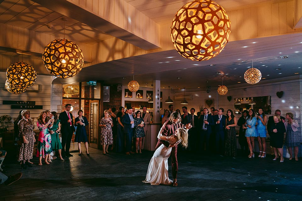 Initial Consultation for weddings first dance