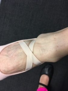 Types of ballet shoes