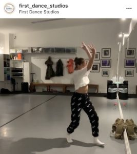 Diana teaching Street dance