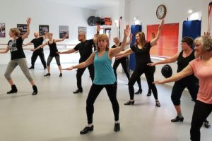Tap dance at First Dance Studios Woking online and in studio