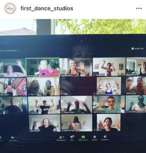 First Dance Classes Online