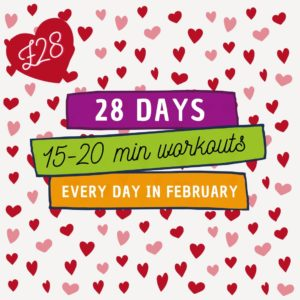 28 Day Fitness Challenge