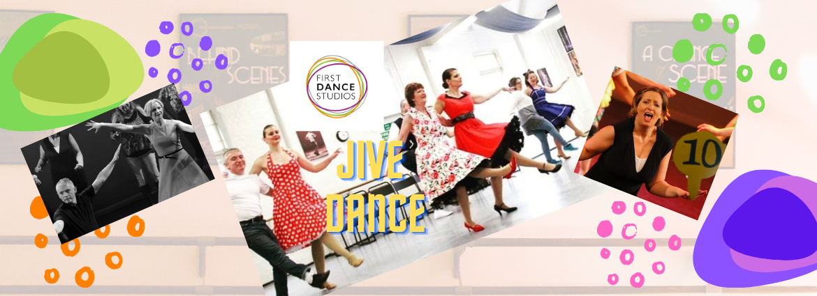 Join us here at First Dance Studios for jive dancing adult classes