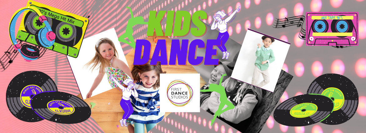 Kids Dance Free Style online with First Dance Studios