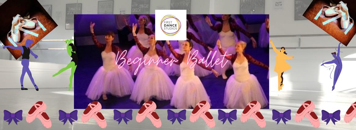 Beginner Ballet class online for adults