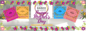 Happy Mother's Day Dance Adult classes online at First Dance Studios