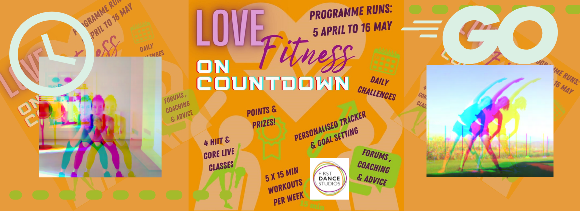 Love Fitness on Countdown - how to get fit this Spring