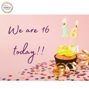 Happy 16th Birthday to First Dance Studios
