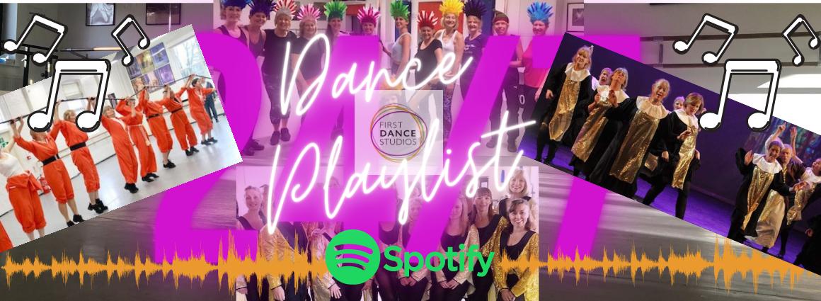 First Dance Studios presents dance playlist