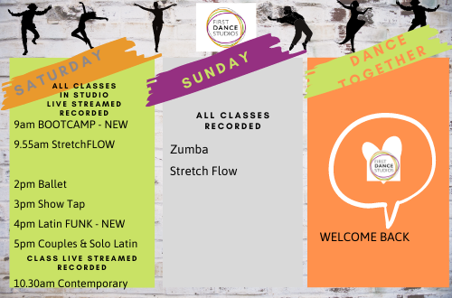 Come and dance for fun, for fitness, for friends
